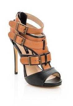 Contrast Strap Sandals