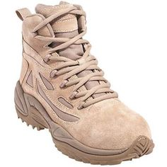 Reebok boots mens rb8694 tan composite toe military boots in Men Military Boots