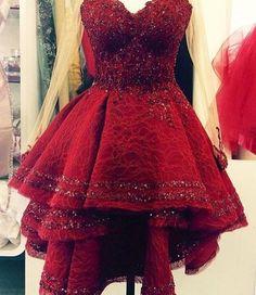 Maroon Cocktail Dress