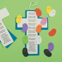 This is a super easy Easter activity that can be used for any preschool Bible class. Pre-cut everything, little hands will only need to assemble the pieces.