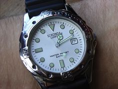 My old Sekonda from c. 1991. I actually have two of these - don't ask.