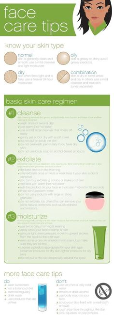The most important organ is the one that protects your body, it is the #skin! Here are some #face #care #tips.