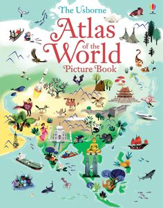 #Atlas #Geography #picturebook #usborne #childrensbooks #learning #LibraryEdition