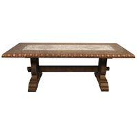 *Bronzed Navarra Dining Table | BelleEscape.com
