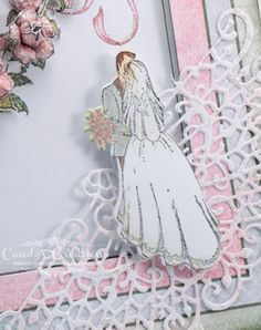 #CandySlabaugh #CandysCreationsAndDesigns #WeddingCard  #HeartfeltCreations #ClassicWedding #Want2Scrap #ImagineCrafts #ClearSnap #CardMaking #PaperCrafts #DieCutting