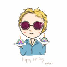 Happy Birthday ♡   #Happy302Day #HongGiDay  #HappyHongstarDay #ftislandfanart #hongki #홍기