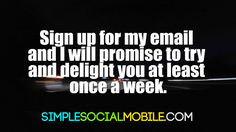 That's my promise. If you've been looking over my pins, I hope you have come to the conclusion that I can help you with your business. That's my job, and I love it! My Email, Artificial Intelligence, My Job, I Promise, I Hope You, Social Media Marketing, Business