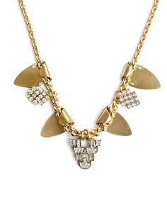 Style Warrior necklace- altın sarı kolye