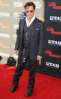 Johnny Depp (who turned 50 this month!) from Hot Leading Men Over 50   E! Online