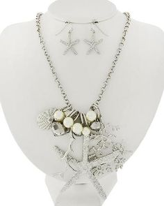 Silver Tone Starfish, She... - Baublefied | Scott's Marketplace