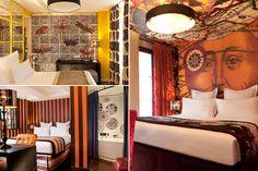 hotel petit moulin in paris by christian lacroix hotel. Black Bedroom Furniture Sets. Home Design Ideas
