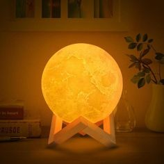 Hot Baby Led Night Light Novelty Rechargeable Usb Lamp Nightlight For Nursery Bedside With Remoto Control Smoothing Circulation And Stopping Pains Led Night Lights Led Lamps