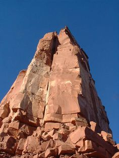 Utah, Moab Area, Castle Valley, Castleton Tower, North Chimney (5.8 Trad, 4 pitches)