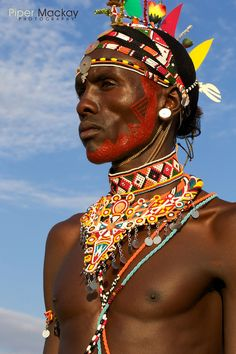 It is considered the duty of every Maasai women to learn the jewelry making craft. The jewelry they create is not only beautiful but also has important cultural significance. read more http://interesting-africa-facts.com/African-Jewelry/Maasai-Bead-Jewelry.shtml photo courtesy of Piper Mackay