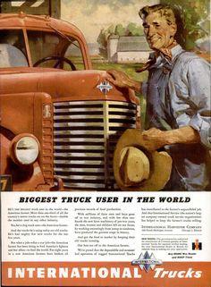 389 best international harvester advertisements images on pinterest rh pinterest com International Harvester Combines International Harvester Signs