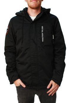 Metal Mulisha Men's True Grit Full Zip Long SLeeve Hooded Jacket