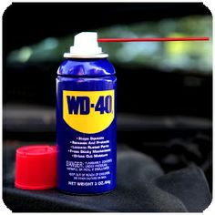 One thing you should always have in your car: WD-40 (and more) onstarconnections.com | #list #tips #car #onstar