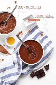 DIY Nutella 2 Ways! #vegan #glutenfree #minimalistbaker