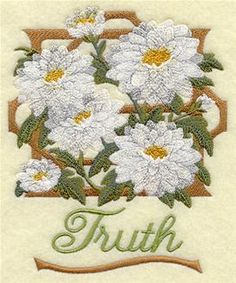 Machine Embroidery Designs at Embroidery Library! - Chrysanthemums