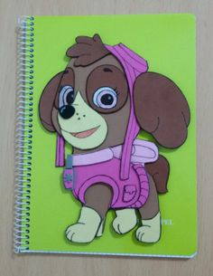 Cuadernos patrulla canina Skye