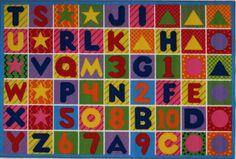 Fun Rugs Fun Time Numbers and Letters Kids Rug & Reviews   Wayfair