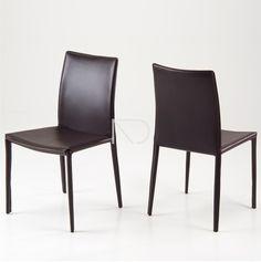 Krzesło DIVIDI - brązowe - Nordic Decoration Home
