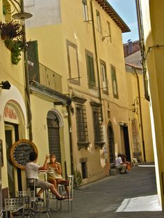 Streets, Lucca, Italy by Robby Virus, via Flickr - wishing I could be back there...