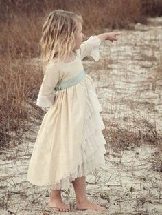 gasp. beauty. Marie Antoinette Dress | 41 Flower Girl Dresses That Are Better Than Grown-Up People Dresses
