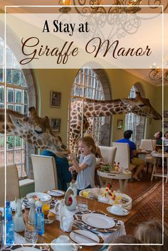 Giraffe Manor was just as cool as we hoped it would be - especially breakfast! Here's a recap of our amazing stay.