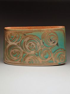Julie Covington Vase at MudFire Gallery