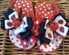 Items similar to boutique FUNKY fun PINK LIMEAIDE toddler flip flop sandals on Etsy