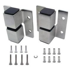 Replacing Existing Toilet Partition Hardware With New Latches Pulls - Bathroom partition brackets