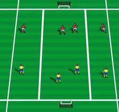 lane soccer to teach zones