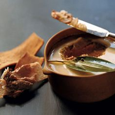 If you like chicken liver mousse, you'll definitely want to try this recipe, which uses a completely different method than most. Puréeing the chicken livers and then baking them in a hot water bath results in an extremely tender spread.