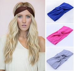 Envío gratis moda 2014 de torsión de la marca deportiva Yoga diadema Bandana hijab pañuelo turbante