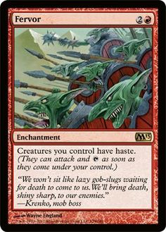 Magic the Gathering - Burst of Speed - Magic 2010 *** Special offer just for you. FREE Toys and Games Magic Booster, The Valiant, Something To Remember, Magic The Gathering Cards, Flesh And Blood, Wizards Of The Coast, Deck Of Cards, Mtg, Goblin
