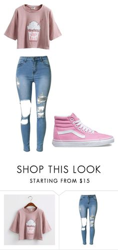 """Untitled #276"" by thenerdyfairy on Polyvore featuring Vans, cute, fashionWeek, fashionable and fashionset"