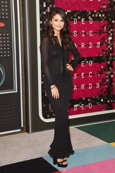 Selena Gomez attends the 2015 MTV Video Music Awards in Los Angeles, CA. August 30.