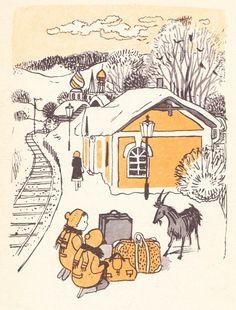 Illustration: Maria Mackiewicz, Title: Czuk i Hek, Author: Arkady Gajdar