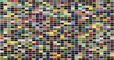 gerhard richter colour charts