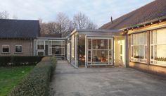 Architectuurbureau Voss Basisschool Alem Verbouwing Herbestemming Hergebruik bestaande kozijnen