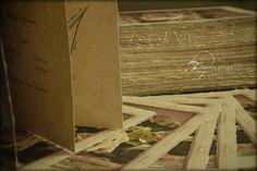 Romantic rose wedding invitation -  Vintage wedding stationery - Beyond Verve