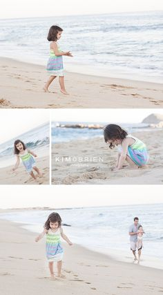 a day at the beach session ~ cary nc family photographer » Kim OBrien Photography