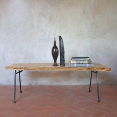 Elm Wood Bench Table now featured on Fab.  Gorgeous!