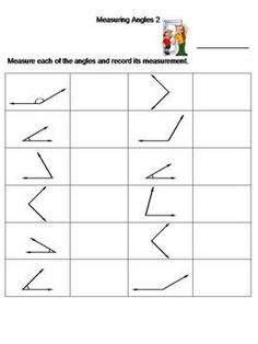 Geometry worksheet practice on 'Label The Diagram'! Measure the ...