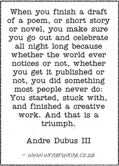 Quotable - Andre Dubus III - Writers Write