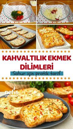 Kahvaltılık Peynirli Ekmek Dilimleri Tarifi nasıl yapılır? 886 kişinin defterindeki bu tarifin resimli anlatımı ve deneyenlerin fotoğrafları burada. Yazar: Sütaş