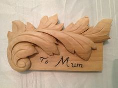 To my Mother. Follow me at www.cutmarks.co.uk