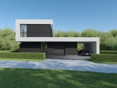 Individual modern Architectural design and concepts. Minimal Architecture, Contemporary Architecture, Architecture Design, Contemporary House Plans, Modern House Plans, External Cladding, Good House, Facade, Exterior