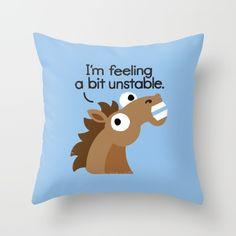 Throw pillows. Trigger Warning by David Olenick